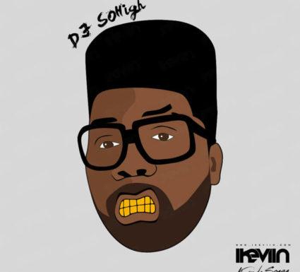 Cartoon DJ SoHigh (Artwork by iKeviin)