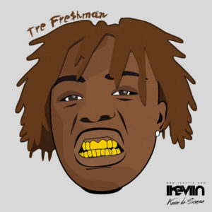 Cartoon Tre Fre$hman (Designed by iKeviin)