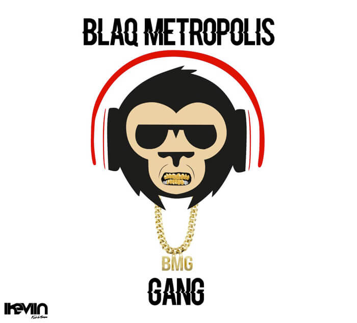 Logo Blaq Metropolis Gang (Artwork by iKeviin)