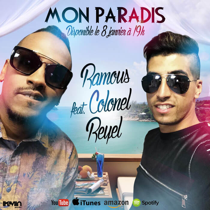 Visual Ramous - Mon Paradis (feat. Colonel Reyel) (Artwork by iKeviin)
