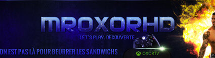 Youtube Header MrOxorHD (Designed by iKeviin)